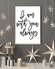 I am with you always 24x36 Poster lifestyle-holiday-poster-1