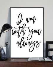I am with you always 24x36 Poster lifestyle-poster-2