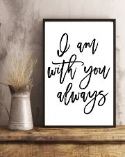 I am with you always 24x36 Poster lifestyle-poster-3