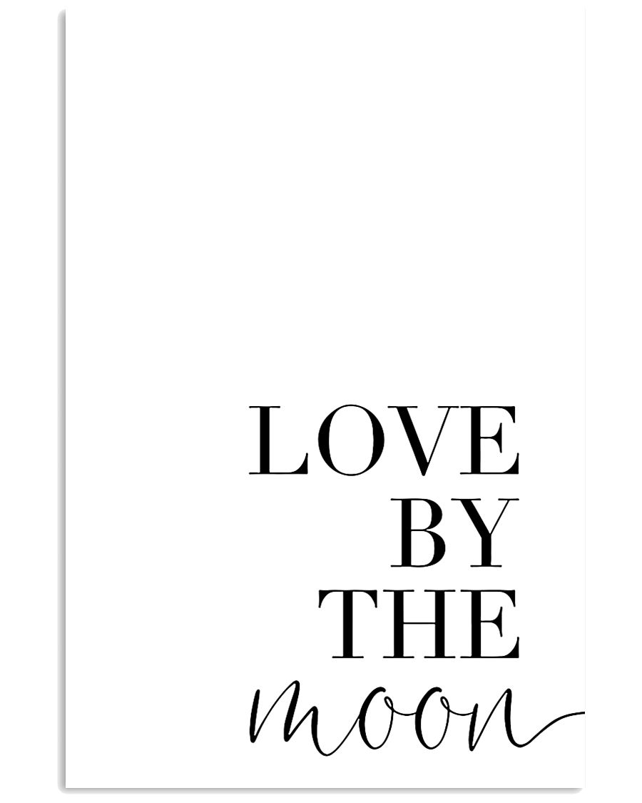 Love by the moon 24x36 Poster