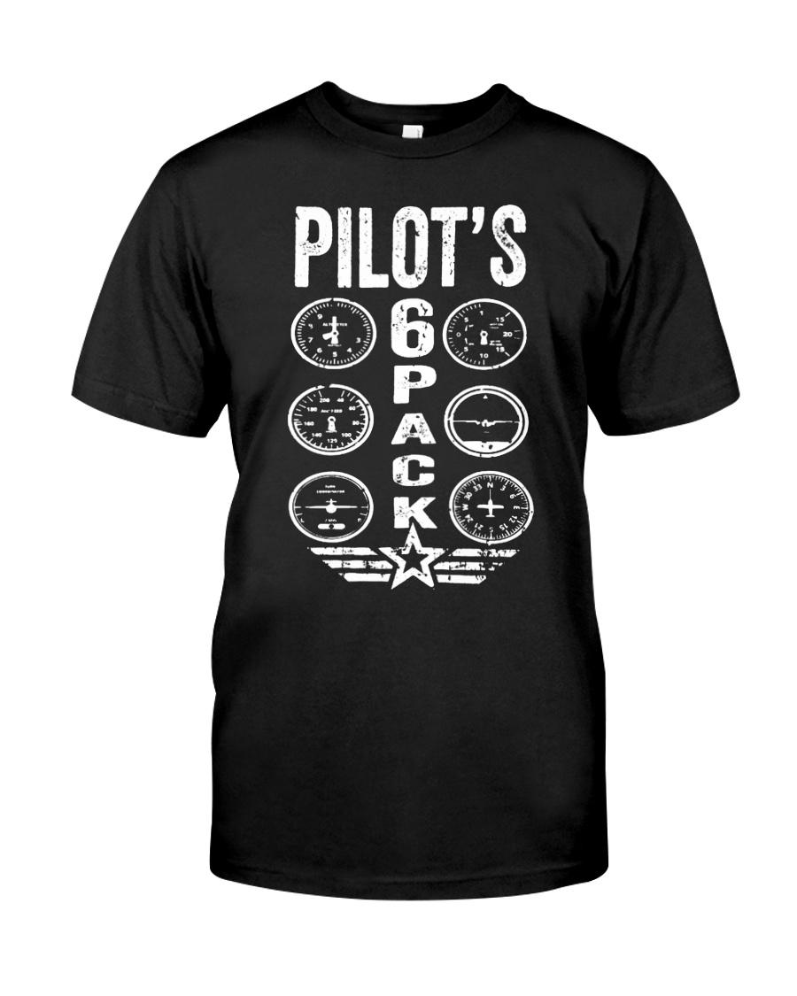 Pilot's 6 PackT-shirt Pilot T-shirt Classic T-Shirt