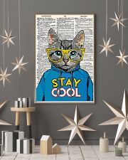 Staycool cat 24x36 Poster lifestyle-holiday-poster-1
