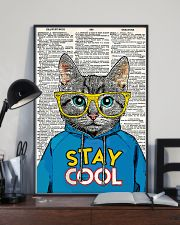 Staycool cat 24x36 Poster lifestyle-poster-2