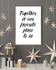 Together is our favorite place to be 24x36 Poster lifestyle-holiday-poster-1