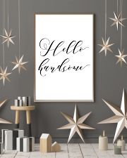 Hello handsome 24x36 Poster lifestyle-holiday-poster-1