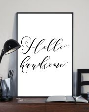 Hello handsome 24x36 Poster lifestyle-poster-2