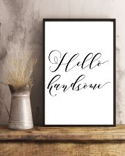 Hello handsome 24x36 Poster lifestyle-poster-3