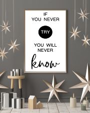 if you never try you will never know 24x36 Poster lifestyle-holiday-poster-1