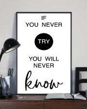 if you never try you will never know 24x36 Poster lifestyle-poster-2