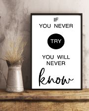if you never try you will never know 24x36 Poster lifestyle-poster-3