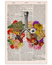Flowery Lungs 24x36 Poster front
