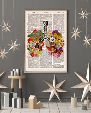 Flowery Lungs 24x36 Poster lifestyle-holiday-poster-1