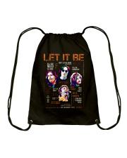 Let It Be Drawstring Bag thumbnail