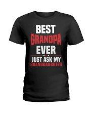 BEST GRANDPA Ladies T-Shirt thumbnail