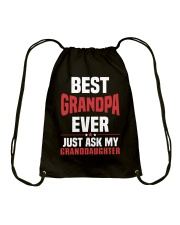 BEST GRANDPA Drawstring Bag thumbnail