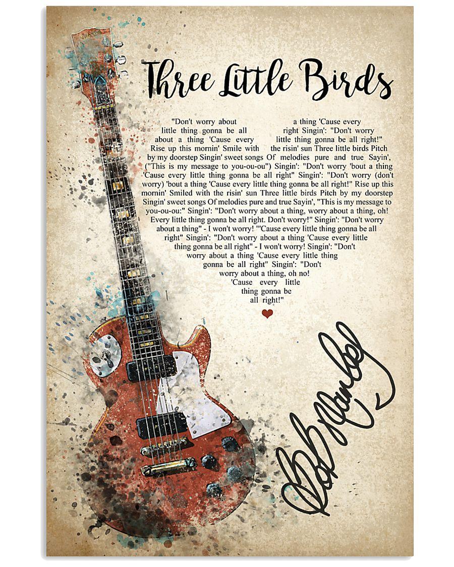 Three Little Birds 24x36 Poster