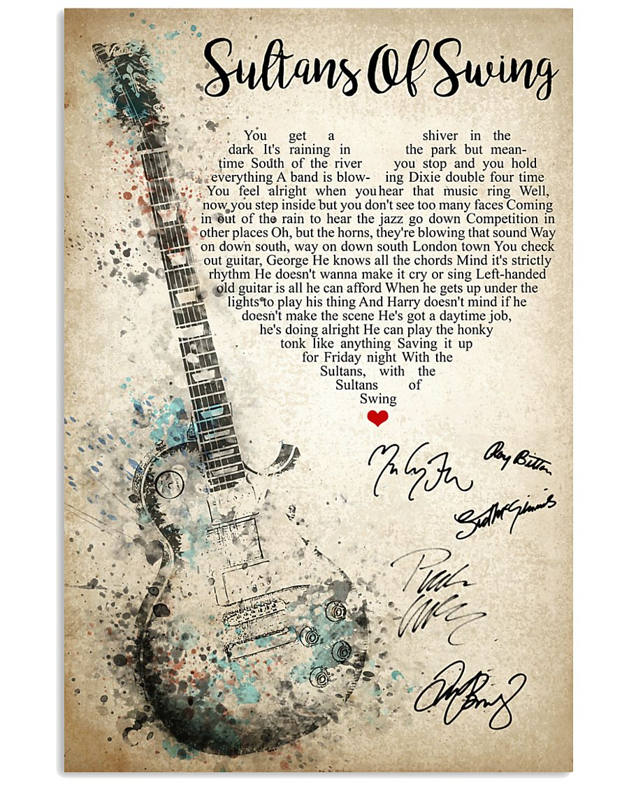 Sultans Of Swing 24x36 Poster