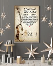 I Don't Want to Talk About It 24x36 Poster lifestyle-holiday-poster-1