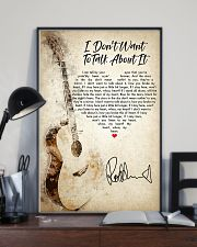 I Don't Want to Talk About It 24x36 Poster lifestyle-poster-2