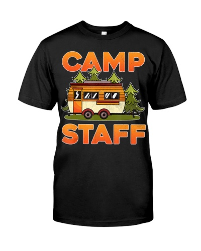 Camp Staff Gift For Camping and hiking Fans