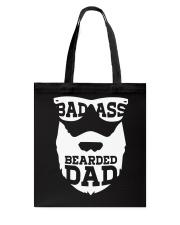 Badass beared dad Tote Bag thumbnail