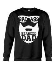 Badass beared dad Crewneck Sweatshirt thumbnail