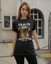 dad and son hunter for life Classic T-Shirt apparel-classic-tshirt-lifestyle-19