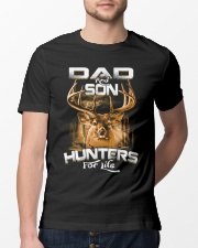 dad and son hunter for life Classic T-Shirt lifestyle-mens-crewneck-front-13