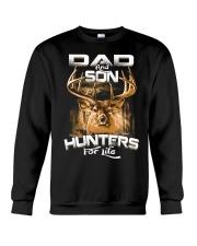 dad and son hunter for life Crewneck Sweatshirt thumbnail