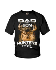 dad and son hunter for life Youth T-Shirt thumbnail