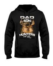 dad and son hunter for life Hooded Sweatshirt thumbnail