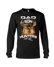 dad and son hunter for life Long Sleeve Tee thumbnail