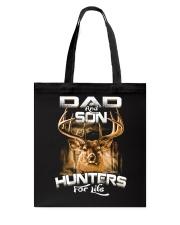 dad and son hunter for life Tote Bag thumbnail