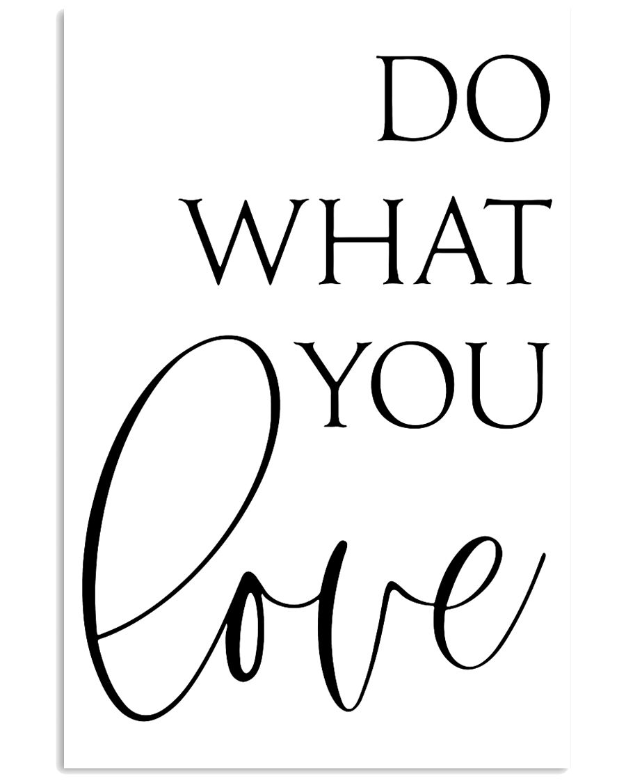 Do What You Love 24x36 Poster