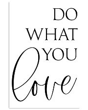 Do What You Love 24x36 Poster front
