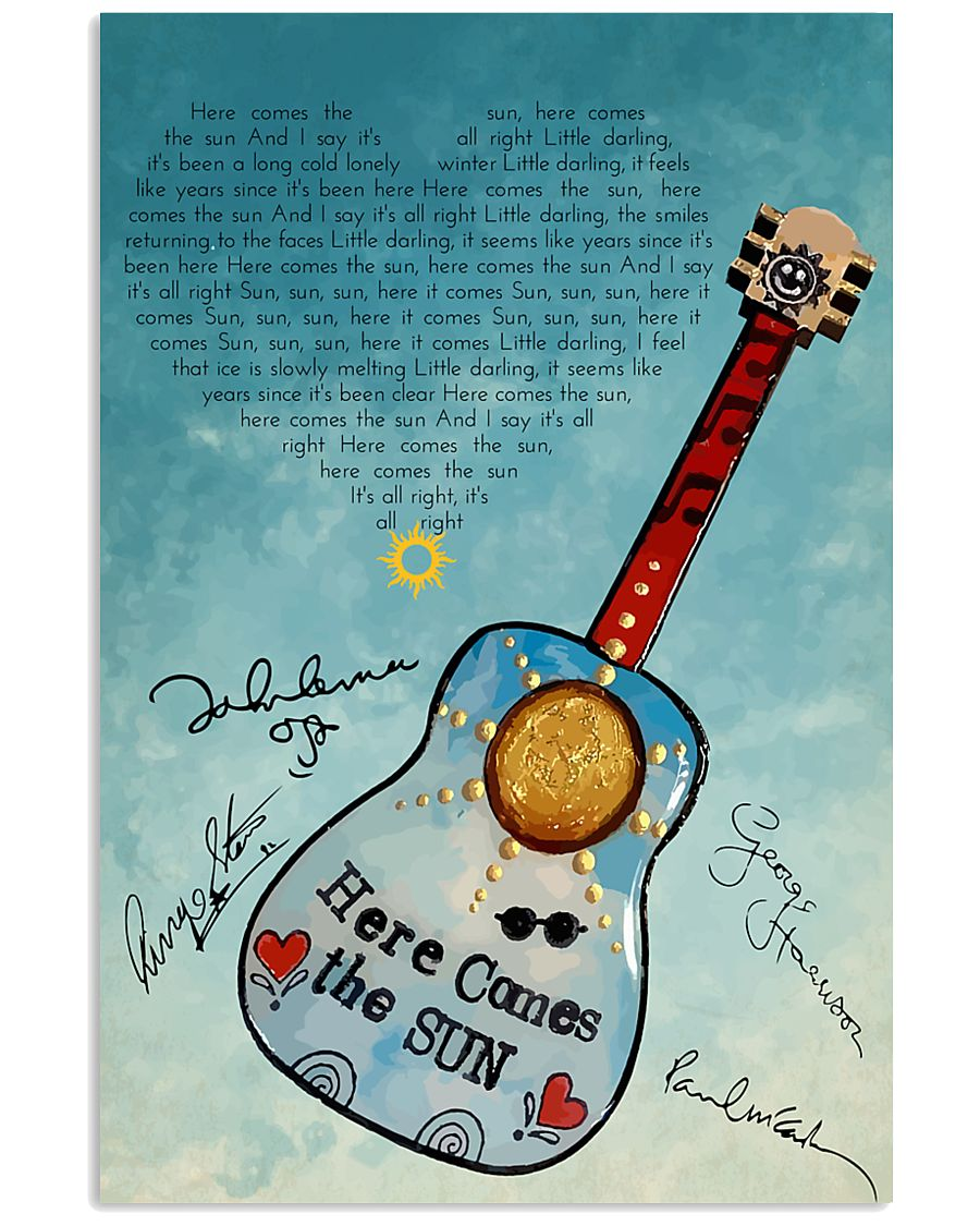 Here Comes The Sun 24x36 Poster