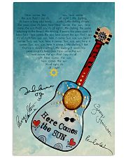 Here Comes The Sun 24x36 Poster front