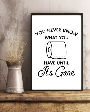 you never know what you have until it's gone 24x36 Poster lifestyle-poster-3