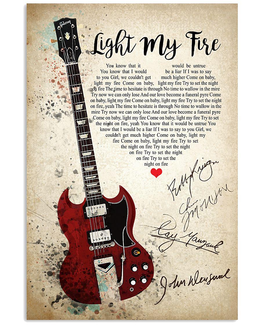 Light My Fire 24x36 Poster