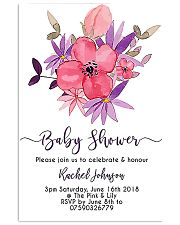 baby shower 24x36 Poster front