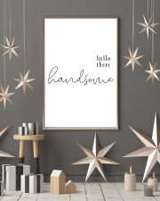 hello there handsome 24x36 Poster lifestyle-holiday-poster-1