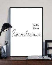 hello there handsome 24x36 Poster lifestyle-poster-2