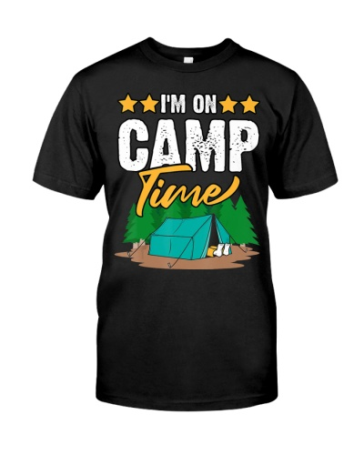 Camp Quote - I'm On Camp Time