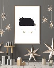 Cat Bath Time 24x36 Poster lifestyle-holiday-poster-1