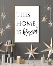 This home is blessed 24x36 Poster lifestyle-holiday-poster-1