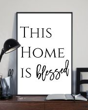 This home is blessed 24x36 Poster lifestyle-poster-2