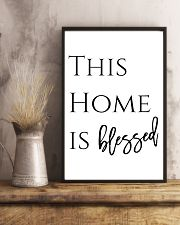 This home is blessed 24x36 Poster lifestyle-poster-3
