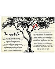 In My Life  36x24 Poster front