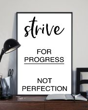 Strive for progress not perfection 2 24x36 Poster lifestyle-poster-2