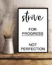 Strive for progress not perfection 2 24x36 Poster lifestyle-poster-3